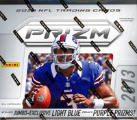 2013 Panini Prizm Football Jumbo Box