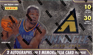 2013/14 Panini Pinnacle Basketball Hobby Jumbo Box