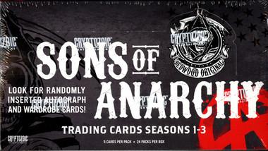 2014 Sons Of Anarchy Seasons 1-3 (Cryptozoic) Hobby Box