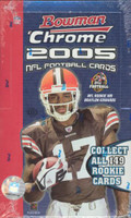 2005 Bowman Chrome Football Hobby Box