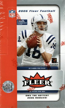 2006 Fleer Football Hobby Box