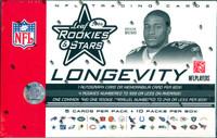 2006 Leaf Rookies & Stars Longevity Football Box