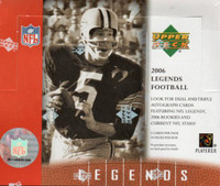 2006 Upper Deck Legends Football Hobby Box