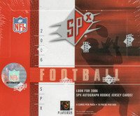 2006 Upper Deck SPx Football Hobby Box