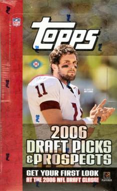 2006 Topps Draft Picks & Prospects Football Hobby Box