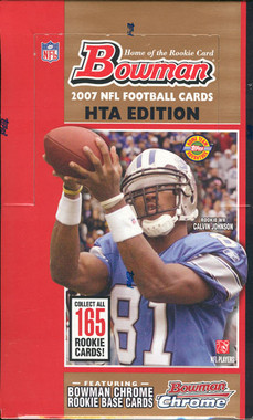 2007 Bowman Football Jumbo HTA Hobby Box