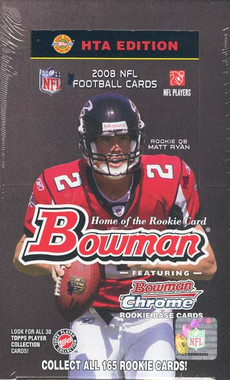 2008 Bowman Football Jumbo HTA Hobby Box