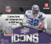 2008 Upper Deck Icons Football Hobby Box