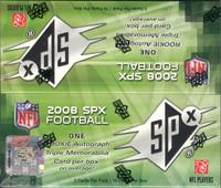 2008 Upper Deck SPx Football Hobby Box