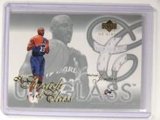 03-04 Upper Deck Glass A Swatch Of Class Michael Jordan jersey #SC-MJ sp! *52144