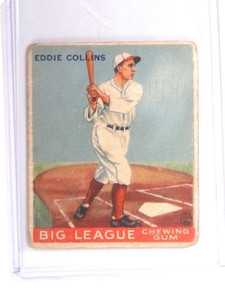 1933 Goudey Eddie Collins #42 Fair *52205