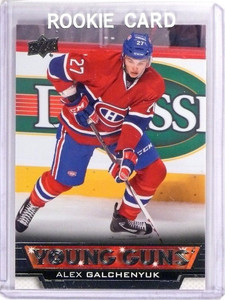 2013-14 Upper Deck Series 1 Alex Galchenyuk Rookie RC Young Guns #203 *51545