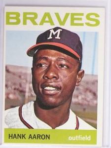 1964 Topps Hank Aaron #300 EX *48752