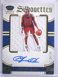 2015-16 Panini Preferred CR Silhouettes Grant Hill Jersey Autograph #D34/40 *639
