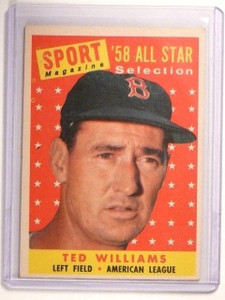1958 Topps Ted Williams AS #485 VG-EX *45571
