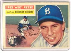 1956 Topps Pee Wee Reese #260 vg+ *36558