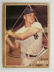 1962 Topps Roger Maris #1 Fair *24469