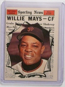 1961 Topps Willie Mays #579 AS EX+ *44796