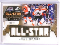 2015-16 SP Game Used Jakub Voracek All-Star Relics Jersey #D37/49 #ASJV *53777