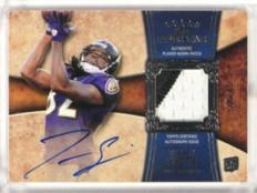 2011 Topps Five Star Torrey Smith auto autograph 2clr patch rc #D29/75 #175 *330