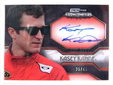2010 Press Pass Showcase Exhibit Ink Kasey Kahne auto #D25/45 *29114