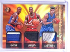 2015-16 Gold Standard Newly Minted Grant Wright Anderson Patch #D21/25 *64137
