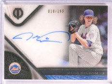 2017 Topps Tribute Jacob Degrom autograph auto #D10/199 #TA-JD *67484