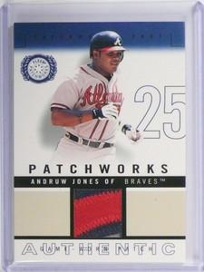 2003 Fleer Patchworks Andruw Jones Patch Jersey #D297/300 #PW-AJ2 *49945