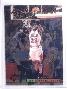 1997-98 UD3 Awesome Action Michael Jordan #A1 *64093