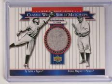 2002 Upper Deck Heroes World Series Matchups Ty Cobb pants #MU09 *51703