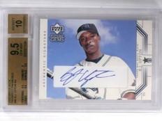 2002 Upper Deck Prospect Premieres B.J. Upton autograph rc #96 BGS 9.5 *55819