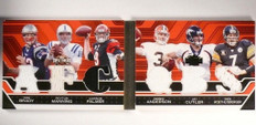 2008 Triple Threads Brady Manning Palmer Roethlisberger Jersey book #/13 *50865