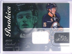 2015-16 Fleer Flair Showcase Jack Eichel Rookie Jersey Row 0 Seat 65 *55392