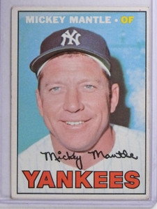 1967 Topps Mickey Mantle #150 VG *65152