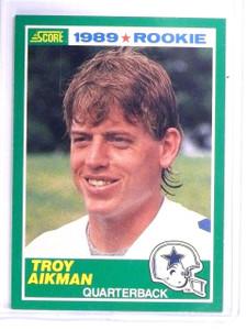 1989 Score Troy Aikman Rookie RC #270 *64368