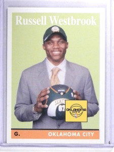 2008-09 Topps 1958-59 Variations Russell Westbrook Rookie RC #199 *63466