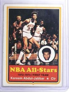 1973-74 Topps Kareem Abdul-Jabbar #50 EX *63373