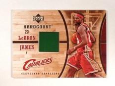 2006-07 UD Hardcourt LeBron James Game Used Floor GF-16 *45796