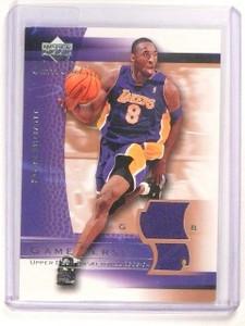 2003-04 Upper Deck Sweet Shot Kobe Bryant Game Jersey *45674