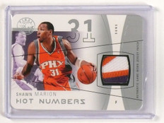 2003-04 Flair Final Edition Shawn Marion Hot Numbers Jersey Patch #d01/05 *45565