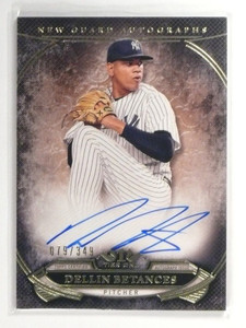 2015 Topps Tier One New Guard Dellin Betances autograph auto #D79/349 *49519