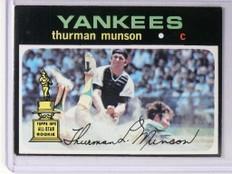 1971 Topps Thurman Munson #5 VG-EX *48790