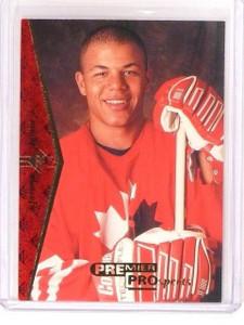 1994-95 SP Jarome Iginla Rookie RC #181 Flames *45954