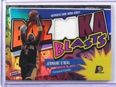 03-04 Topps Bazooka Blasts Jermaine O'neal foil patch #D10/25 #BB-JO *36973