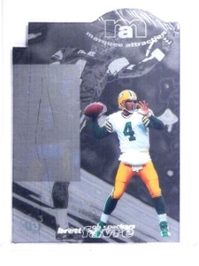 1997 UD3 Marquee Attraction Brett Favre #MA8 *64519