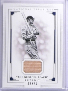 2016 Panini National Treasures Nickname Ty Cobb Bat #D18/25 #3 *63956