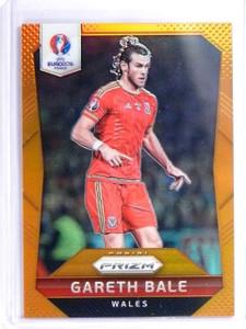 2016 Panini Prizm Soccer Euro Orange Prizms Gareth Bale #D16/20 #118 *55876