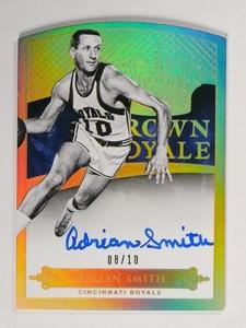 14-15 Panini Preferred Crown Adrian Smith autograph auto #D08/10 #158 *48865