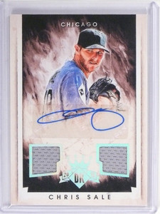 2015 Diamond Kings Chris Sale Dual Jersey Autograph Auto #D09/10 #29 *49099