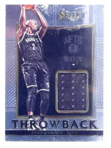 2015-16 Panini Select Throwback Kevin Garnett Jersey #D043/149 #1 *62952